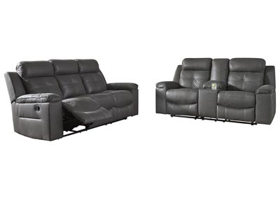 Image for Jesolo Dark Gray Reclining Sofa & Loveseat