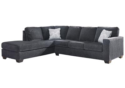 Altari Slate Left-Arm Facing Chaise End Sectional