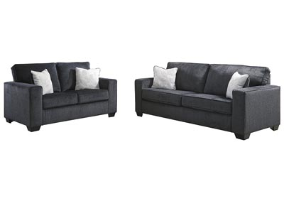 Image for Altari Slate Sofa & Loveseat