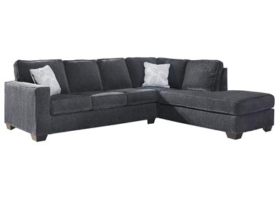Altari Slate Right-Arm Facing Chaise End Sectional