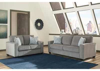 Altary Alloy Sofa and Loveseat