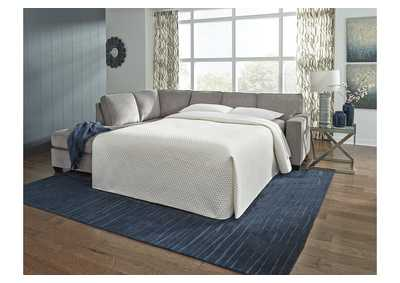 Image for Altari Alloy Left-Arm Facing Full Chaise End Sofa Sleeper