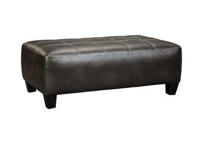 Image for Nokomis Charcoal Oversized Accent Ottoman