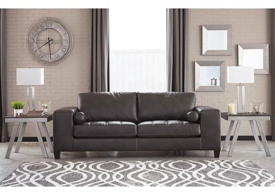 Nokomis Charcoal Sofa