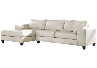 Nokomis Arctic Right Facing Sofa Corner Chaise Sectional