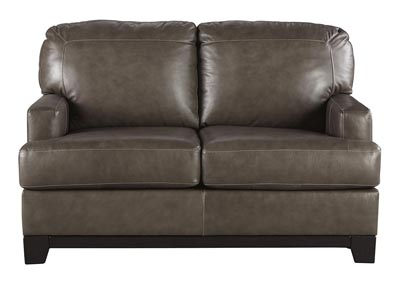 Derwood Pewter Loveseat
