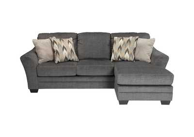 Image for Braxlin Charcoal Sofa Chaise