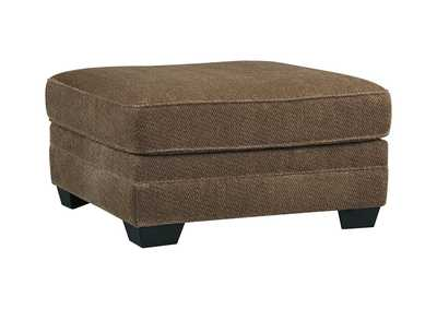 Image for Justyna Teak Oversized Accent Ottoman