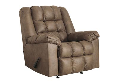 Adrano Bark Rocker Recliner with Heat and Massage