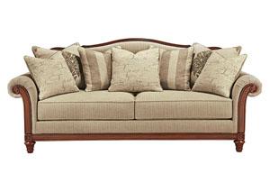 Oak Furniture Liquidators Milari Linen Accent Chair