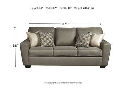 Calicho Cashmere Queen Sofa Sleeper,Benchcraft