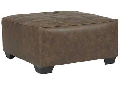 Abalone Chocolate Oversized Ottoman