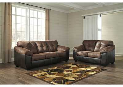 Gregale Coffee Sofa & Loveseat