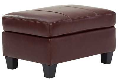 Image for Fortney Mahogany Ottoman