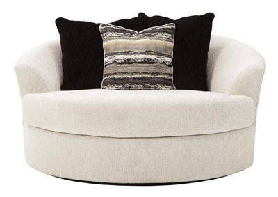 Image for Cambri Oversized Round Swivel Chair