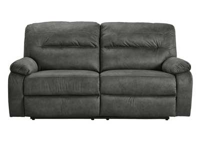 Bolzano Slate Two Seat Reclining Sofa