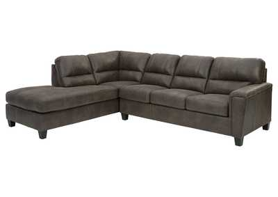 Image for Navi Smoke Left-Arm Facing Sofa Chaise