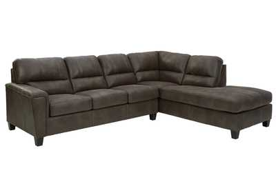 Image for Navi Smoke Right-Arm Facing Sofa Chaise