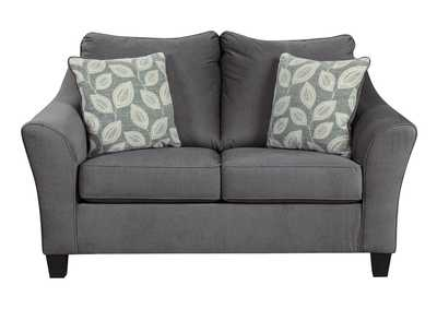 Sanzero Graphite Loveseat