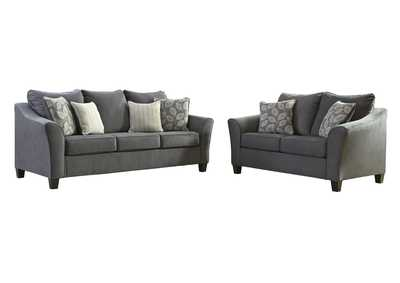 Image for Sanzero Graphite Sofa & Loveseat