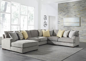 Fallsworth Smoke Right Facing Sectional