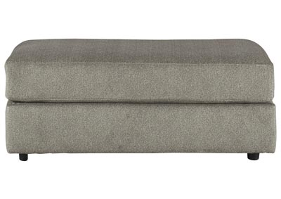 Soletren Gray Oversized Accent Ottoman