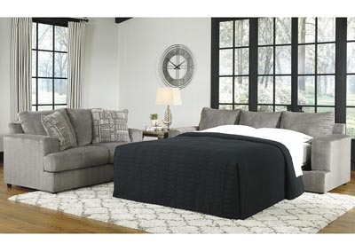 Soletren Gray Queen Sofa Sleeper