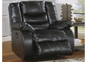 Linebacker DuraBlend® Black Rocker Recliner