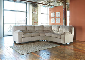 Dailey Alloy Sectional
