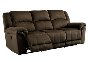 Quinnlyn Coffee Power Reclining Sofa