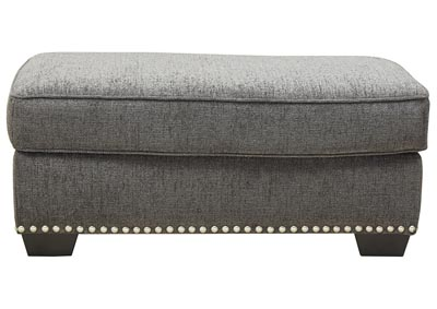 Locklin Carbon Ottoman,Signature Design By Ashley