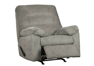 Gosnell Gray Rocker Recliner