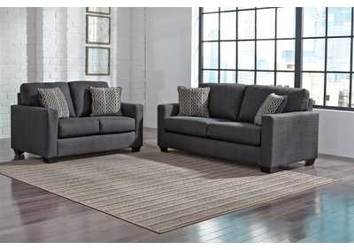 Bavello Indigo Sofa & Loveseat