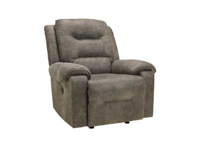 Rotation Smoke Power Rocker Recliner,Signature Design By Ashley