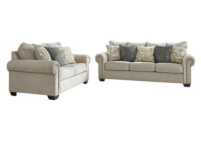 Image for Zarina Jute Sofa & Loveseat