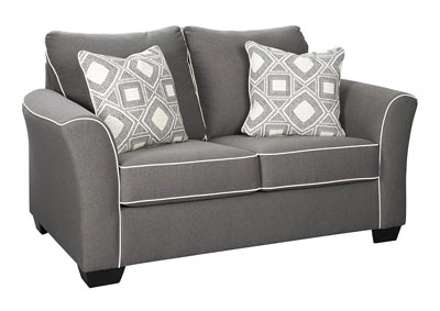 Domani Charcoal Loveseat