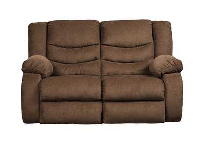 Image for Tulen Chocolate Reclining Loveseat