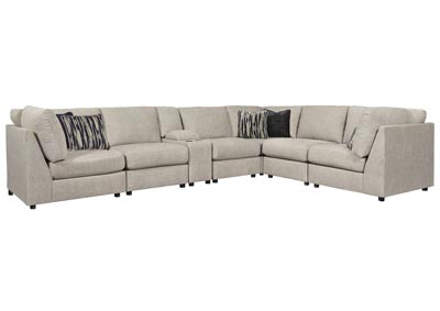 Kellway Bisque Right Arm Facing Sectional w/Console