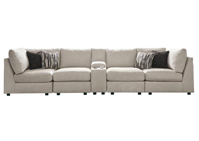 Image for Kellway Bisque Sectional w/Console