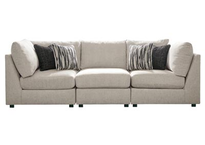 Image for Kellway Bisque 3 Piece Sectional