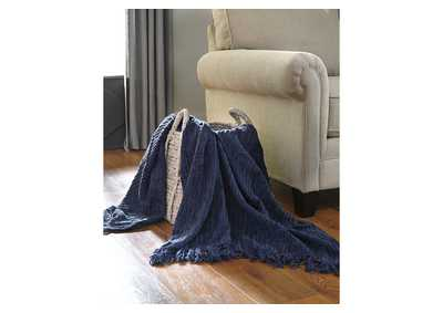 Noland Navy Throw (Set of 3)