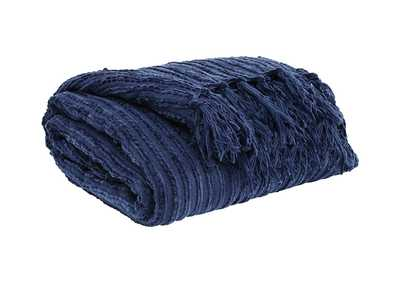 Image for Noland Navy Throw