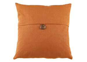 Jolissa Tangerine Pillow (6/CS)