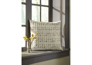 Whitehurst Cream/Taupe Pillow (4/CS)