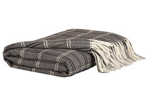 Luis Black/Beige Throw
