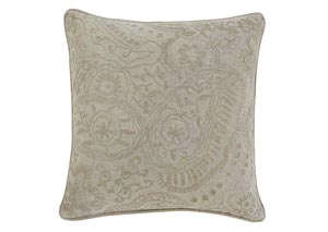 Stitched Natural Pillow (4/CS)