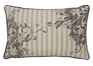 Avariella Natural/Gray Pillow (4/CS)