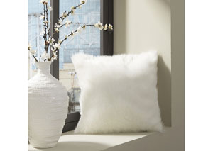 Himena White Pillow (4/CS)