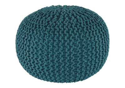 Image for Nils Teal Pouf