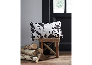 Dagan Black/White Pillow (4/CS)